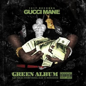 Green Album Gucci Mane front cover