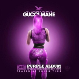 Purple Album Gucci Mane front cover