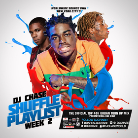 The Shuffle Playlist Week 2 DJ Chase front cover