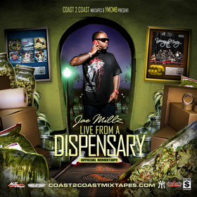 Live From A Dispensary Jae Millz front cover