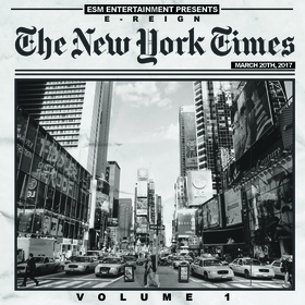 The New York Times Vol. 1 E-Reign front cover