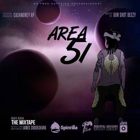 Area 51 Rya Deezy front cover