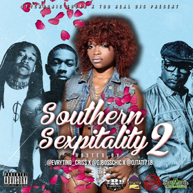 Southern Sexpitality 2 DJ Evryting Criss front cover