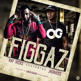 Figgaz EP Ray Vicks front cover
