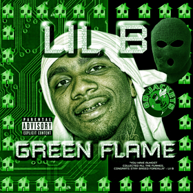 Green Flame Lil B front cover