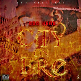 City On Fire Boo Head front cover