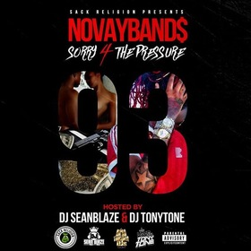 NovayBands - Sorry 4 The Pressure DJ Tony Tone front cover