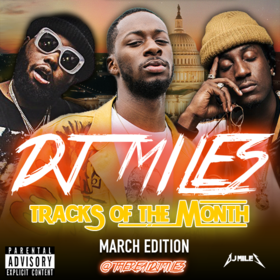Tracks of the Month (March Edition) (2017) DJ Miles front cover