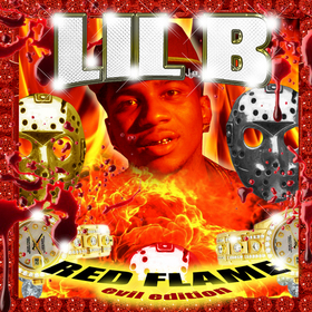 Evil Red Flame Mixtape Lil B front cover