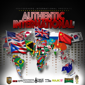 Authentic International vol 1 Dj Knight ATL front cover