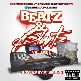 Beatz N Bluntz Vol. 1  DJ Smoke front cover