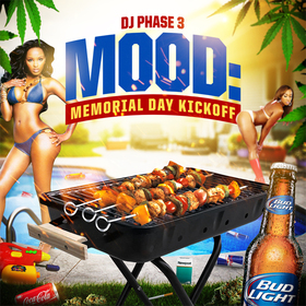 Mood: (Memorial Day Kickoff) DJ Phase 3 front cover