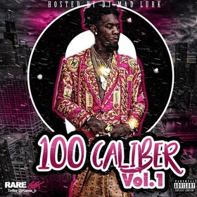 100 Caliber Vol. 1 DJ Mad Lurk front cover