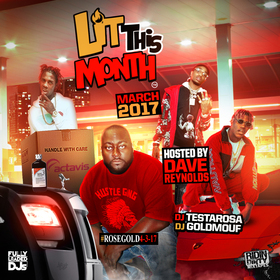 Lit This Month (March 2017) DJ Testarosa front cover