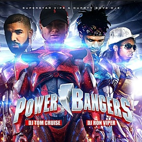 Power Bangers DJ Ron Viper front cover
