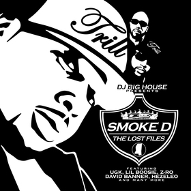 The Lost Files Smoke D front cover