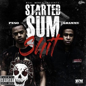 Started Sum Shit peso front cover