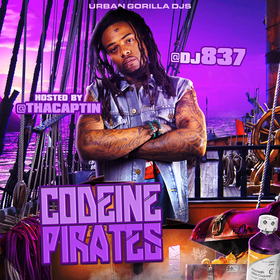 Codeine Pirates (Hosted By Tha Captin) [Chopped & Screwed] DJ 837 front cover