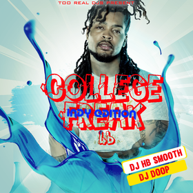College Freak 46 DJ HB Smooth front cover