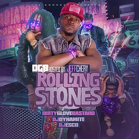 Rolling Stones (Hosted By Jeff Chery) DJ Dynamite front cover