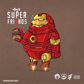 Guy's Superfriends 3 GuyATL front cover