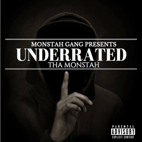 Mikey G Tha Monstah-UnderRated RapNation front cover