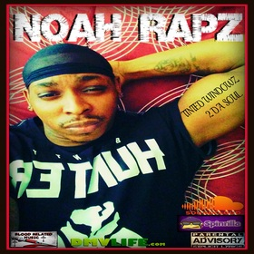 Noah Rapz - Tinted Windowz 2 Da Soul Blood Related Music front cover