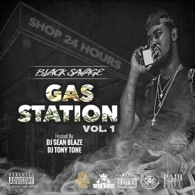 Gas Station Vol.1 DJ Seanblaze front cover