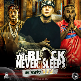The Block Never Sleeps 172 DJ DES front cover