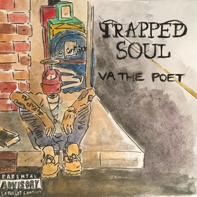 VA THE POET-TRAPPED SOUL DJ Effect front cover