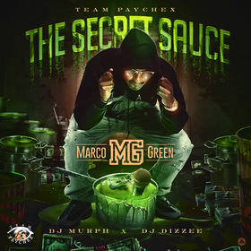 The Secret Sauce Marco Green front cover