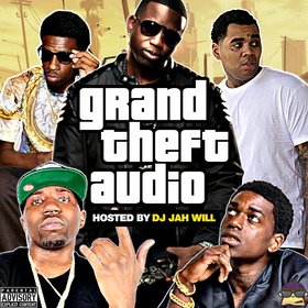 Grand Theft Audio DJ Jah Will front cover