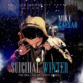 Mike Caesar - Suicidal Winter Mike Caesar front cover