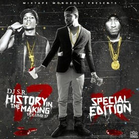 History In The Making 17 DJ S.R. front cover