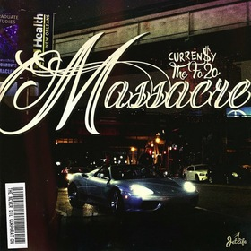 The Fo/20 Massacre Curren$y front cover