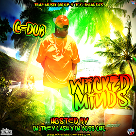 Wicked Minds Dj Trey Cash front cover