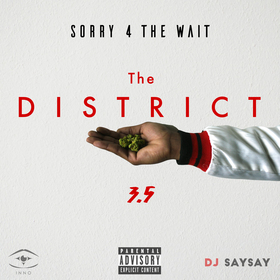 The District 3.5 DJ SaySay front cover