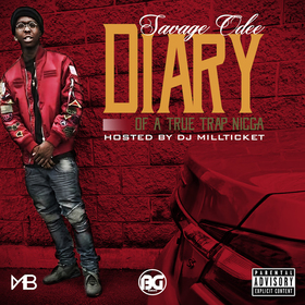 Diary Of A True Trap Nigga Savage Odee front cover