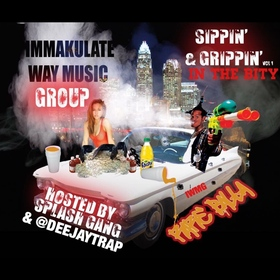 Sippin & Grippin In The Bity Vol  1 Deejaytrap front cover