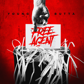 Young Butta - Free Agent Dj RedFx front cover