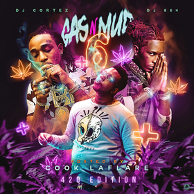 Gas N Mud 6 DJ Cortez front cover