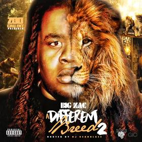 A Different Breed 2 Big Zac  front cover