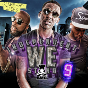 Indie We Stand 9 Hosted by DJ DES  Dj New Era DJ DES front cover