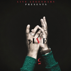 5ive 5 Live Legendary front cover