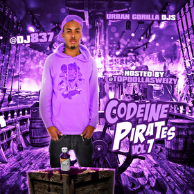 Codeine Pirates 7 (Hosted By Topdolla Sweizy) [Chopped & Screwed] DJ 837 front cover