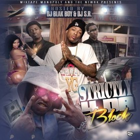 Strictly 4 Da Block DJ S.R. front cover