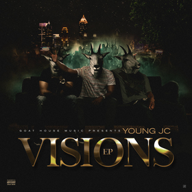 Visions EP Young Jc front cover