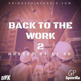 Back To The Work 2 DJ YK front cover
