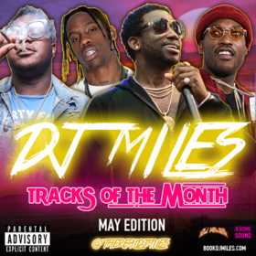 Tracks of the Month (May Edition) (2017) DJ Miles front cover