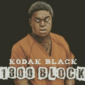Kodak Black - 1800 Block Hustle Hearted front cover